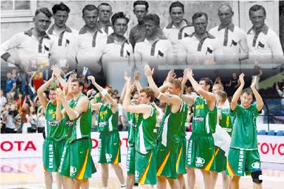 Į olimpiadą – be kamuolio
