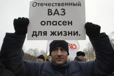 Rusiją supurtė protestai