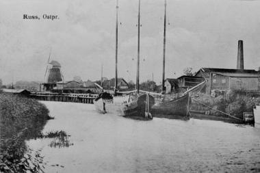 Primins Rusnės laivybos istoriją