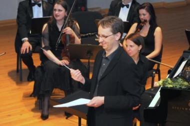 Žaismingos muzikos orkestras stebins ir žavės