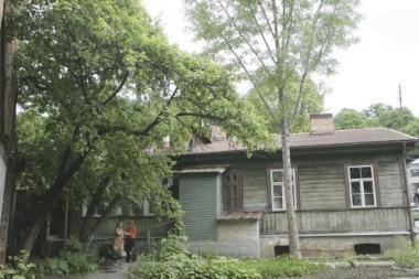 K.Donelaičio gatvėje planuojama atkurti medinuką