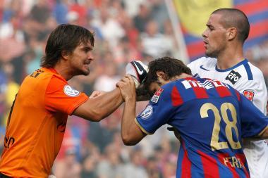 When teammates fight: Franco Costanzo vs Beg Ferati (FC Basel)