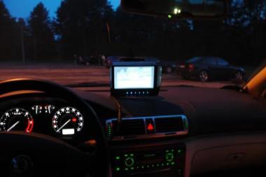 Termovizorius automobilyje: naktinių kelionių pagalbininkas