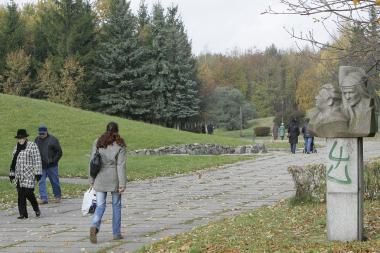 Draugystės parkas svajoja apie atgimimą