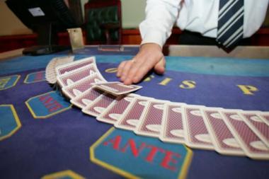 Krizė palaužė lošimų namus