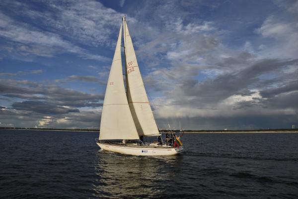 """Savaitgalį – paskutinė jūrinė regata """"Rudeninė Baltija"""""""