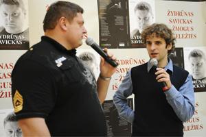 Žydrūnas Savickas ir Andrius Guginis