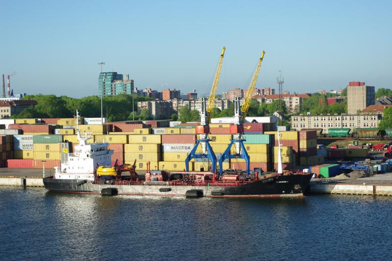 Kaliningrad will be challenged Klaipeda's port