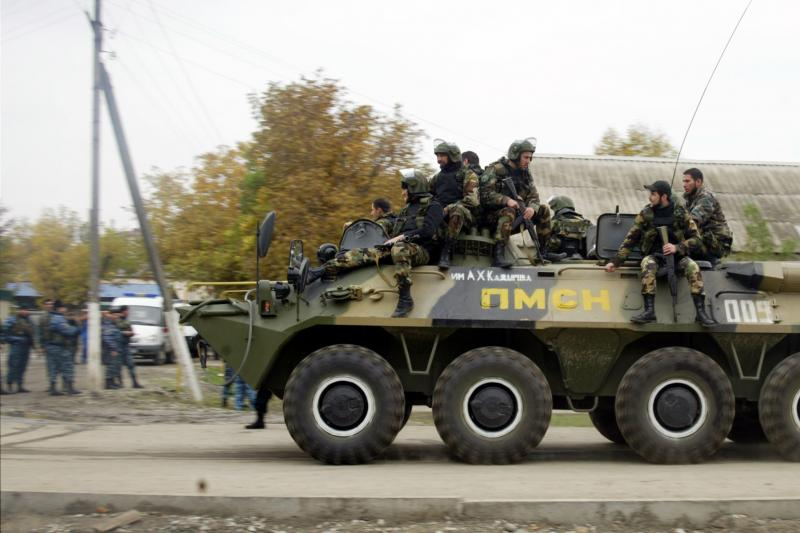 На юго-западе Чечни силовики ведут поиски боевиков