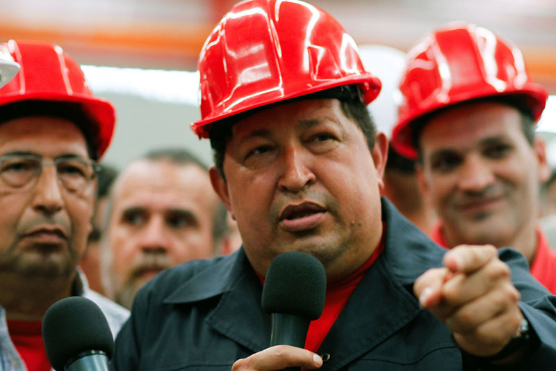 H.Chavezas po vio gydymo kurso Kuboje grta  Venesuel