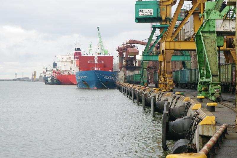 The importance of port in Klaipeda city