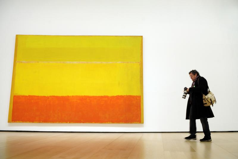 Rothko paveikslas parduotas u rekordin 86,9 mln. doleri sum