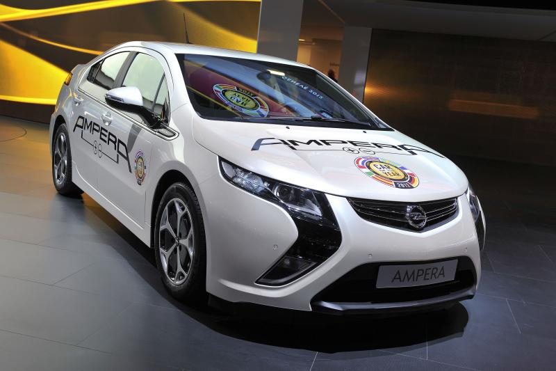 Opel Ampera paskelbtas populiariausiu elektromobiliu Europoje
