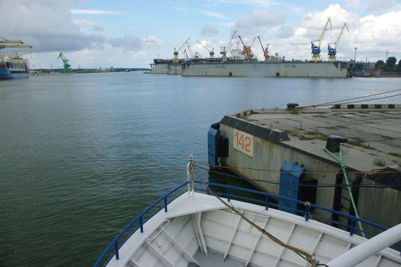 Vyks derybos dėl uosto  žemės  nuomos
