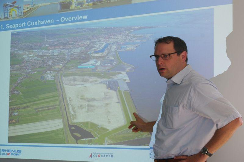 Klaipėdą ir Cuxhaveną jungia vėjo jėgainės