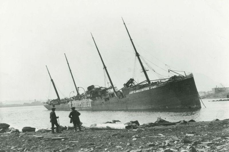 Katastrofa jūroje, sunaikinusi miestą