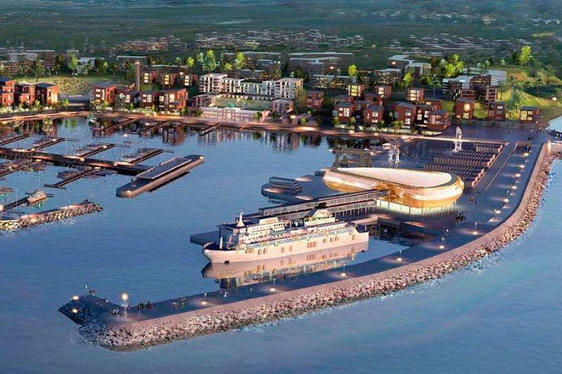 Patvirtintas Kaliningrado keleivių terminalo projektas