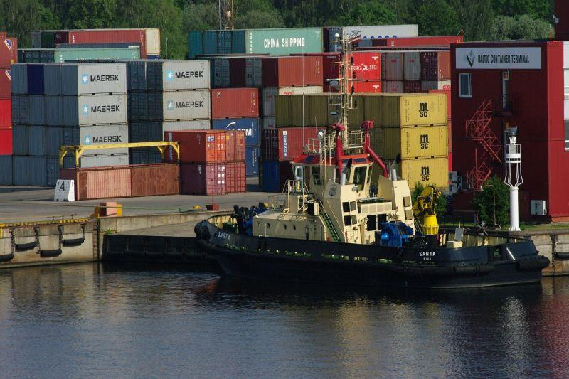 Яркий рост и спад перевалки в  портах