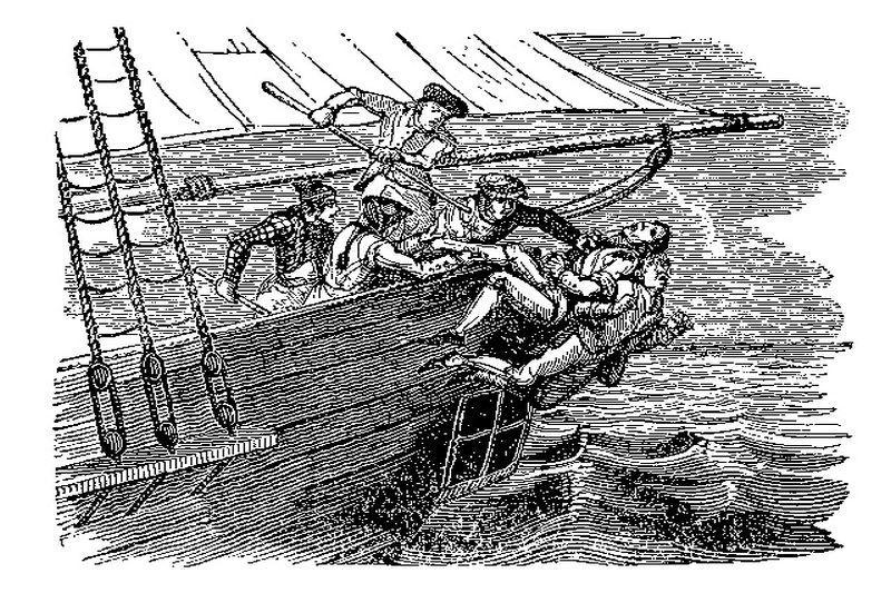 Suktas     ir      žiaurus    piratas