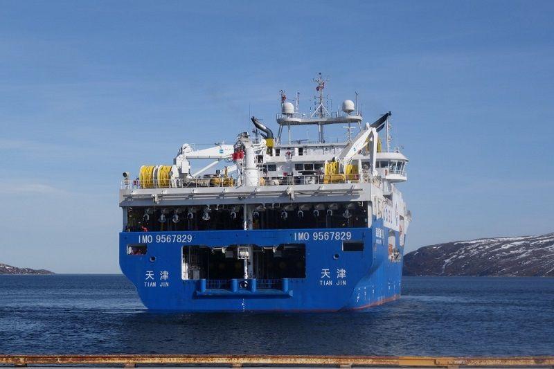 Kinija plečia jūrinius mokslinius tyrimus