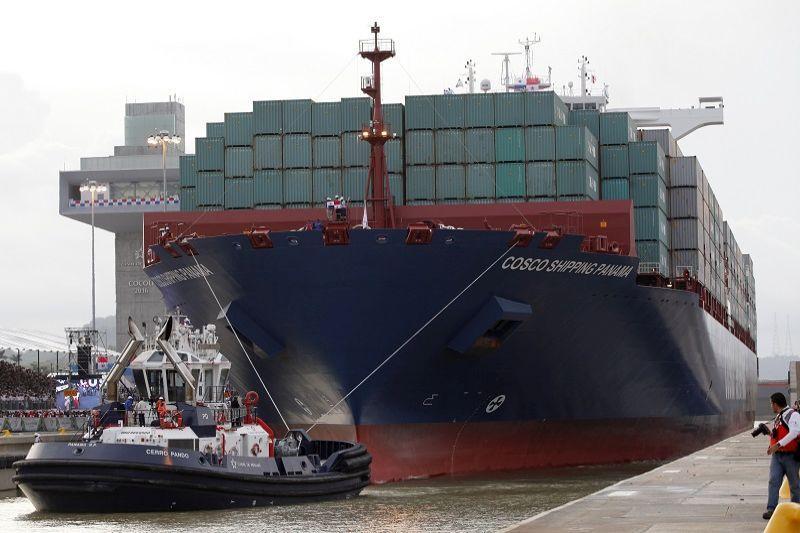 Panamos    kanalas    muša   rekordus