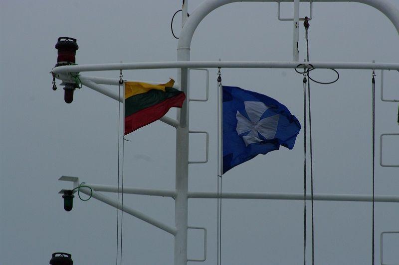 Lietuvos       laivai          nyksta