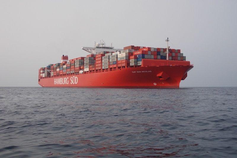 Stiprėja     konteinerinė     laivyba