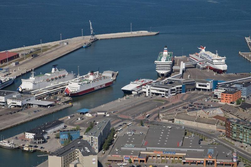 Biržoje suksis Talino  uosto  akcijos