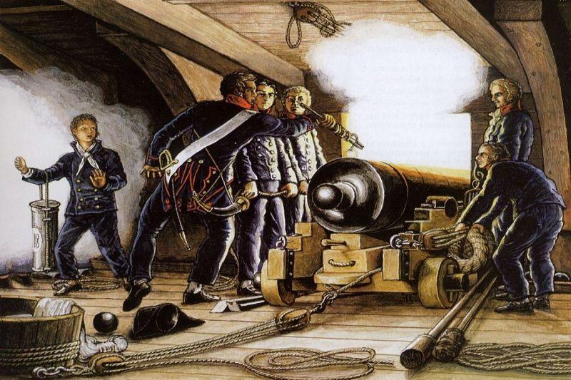 Moterys karinių  burlaivių  pasaulyje