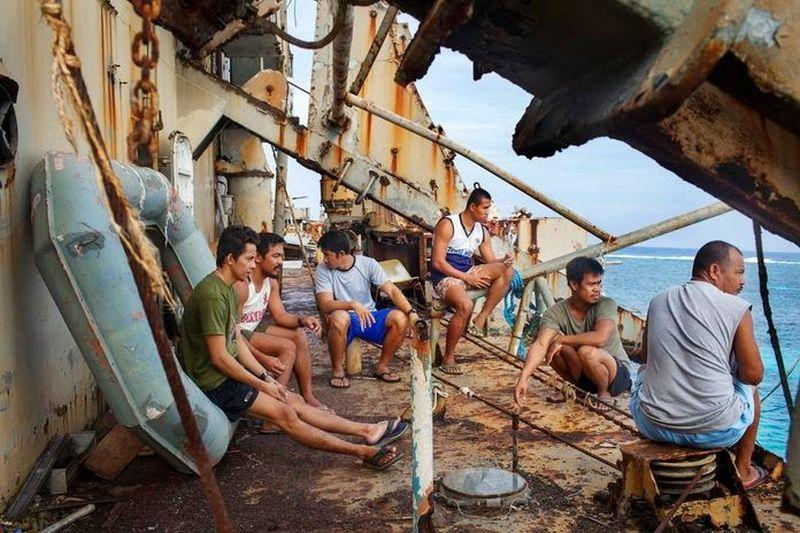 Labiausiai skriaudžiami jūrininkai filipiniečiai