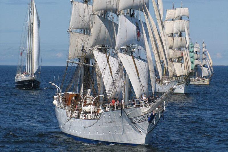 """The Tall Ships' Races 2017"" regata jau vyksta"