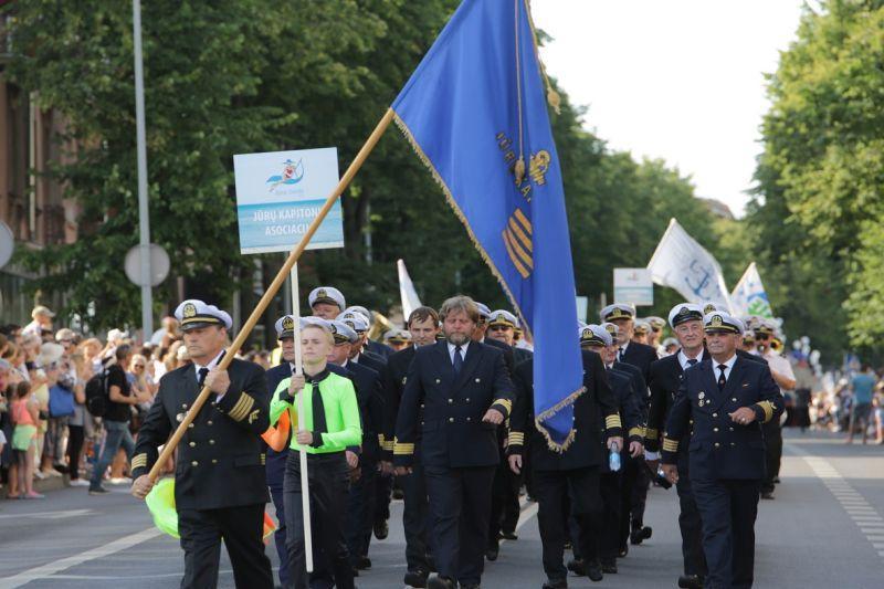 Nyksta Lietuva kaip  jūrinė  valstybė