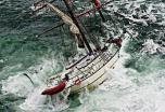 Atkaklus jūreivis  nepaliko  burlaivio