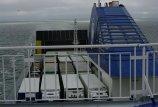 Jūrų keltuose auga  krovinių  kiekiai