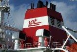 Latvijos laivininkystės sunkumai baigėsi
