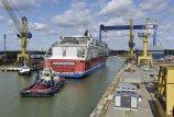 Baltijos jūroje – didžiausias dujinis keltas
