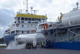 Kitais metais Klaipėdoje dujomis pildys laivus