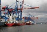 Hamburgo konteineriai Baltijos jūroje