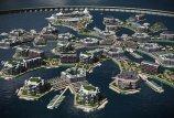 В мире приобретают популярность плавучие города